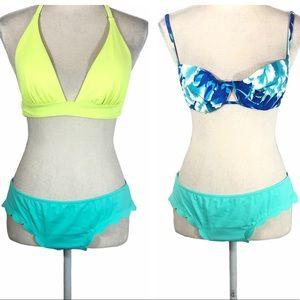 3 piece Victoria secret swimsuit bundle lot